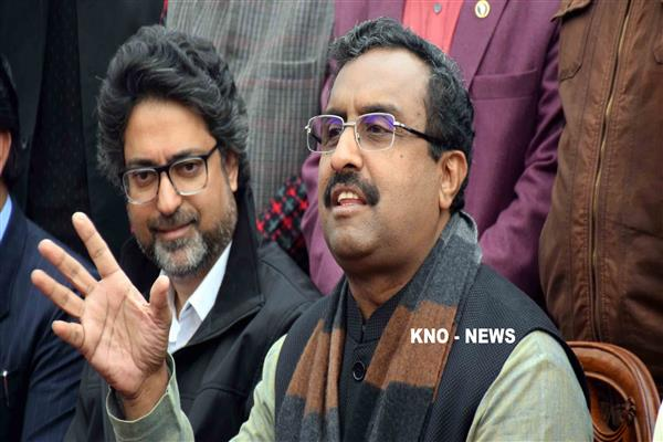 BJP no longer an outsider, but a mainstream party in JK, says Ram Madhav | KNO