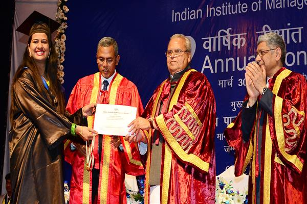 Governor attends 2nd Annual Convocation of IIM Jammu | KNO