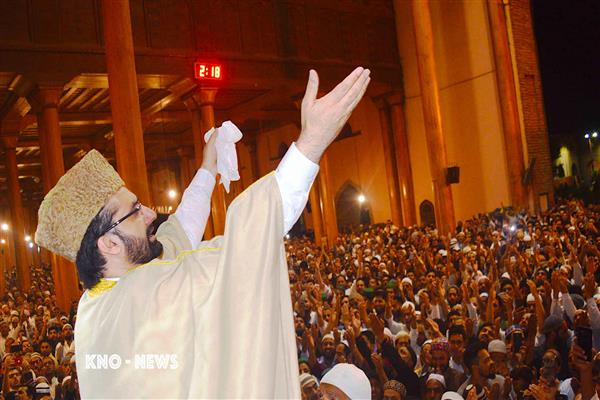 Mirwaiz to deliver sermons on Meraj-un Nabi (SAW) on Apr 03 | KNO