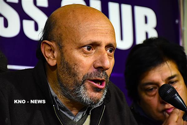 Er Rasheed displeasured over inconvenience being caused to people at Sadhna top | KNO