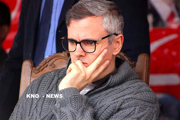 If Congress had talked about AFSPA in 2014, it would have been revoked: Omar | KNO