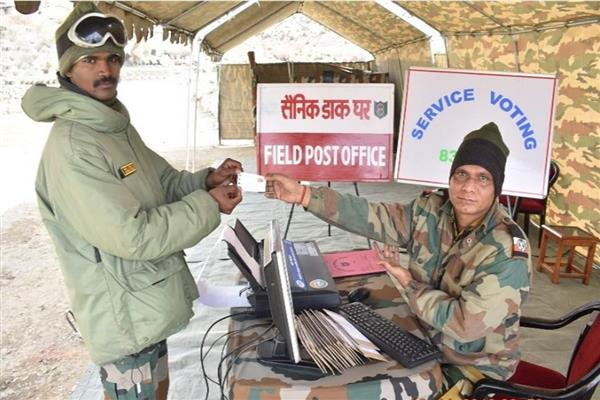 Army men deployed in JK cast ballots as service voters | KNO