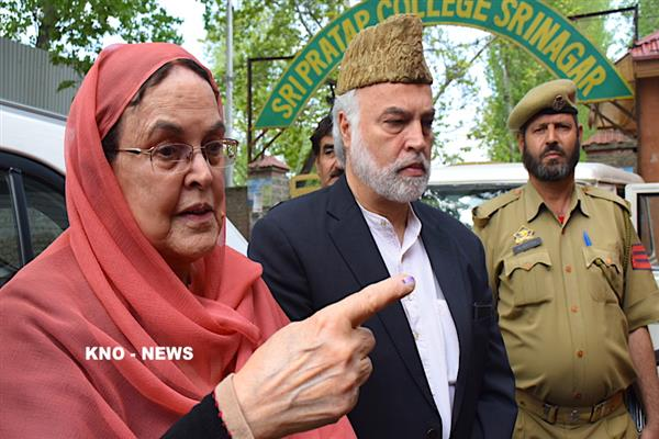 JK will return to times of slavery if all don't stand together: Khalida Shah | KNO