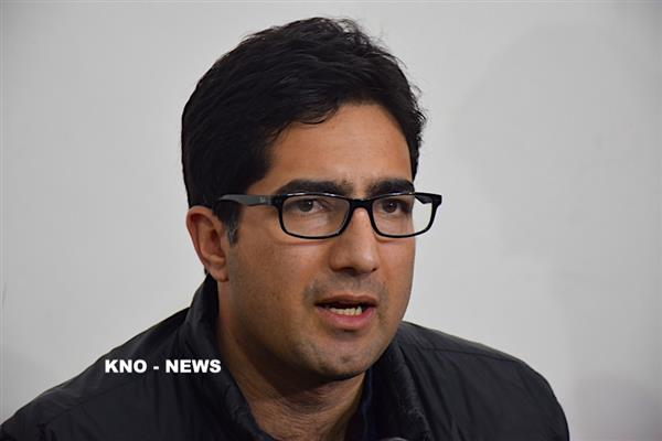 Shah Faesal seeks adequate NEET centres in Kashmir for local aspirants | KNO