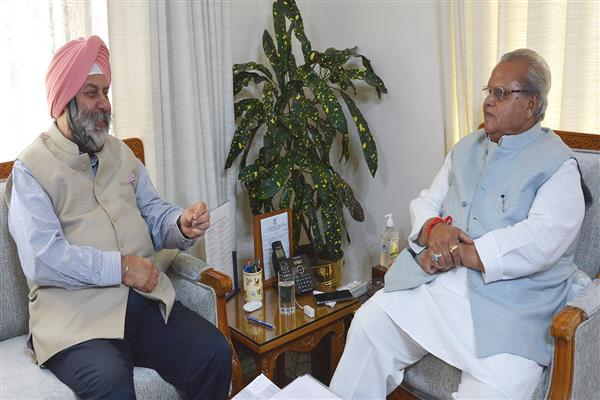 Indian Ambassador to Nepal meets Governor | KNO