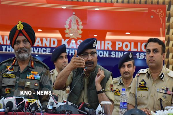 Kashmir situation improving as 2018 saw many positive trends: DGP Dilbagh Singh | KNO