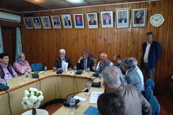 Prof Talat chairs meeting of newly constituted University Research Council | KNO
