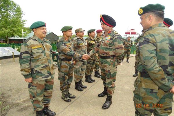 Northern Army commander concludes visit to Valley | KNO