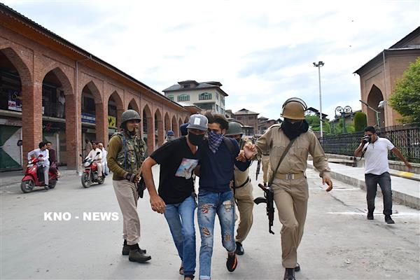 5 youth sustain pellet injuries as clashes rock Nowhatta after Friday prayers | KNO