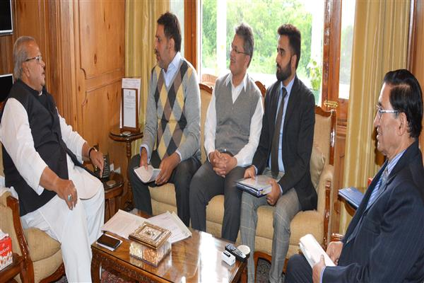 Delegation of KCCI meets Governor | KNO