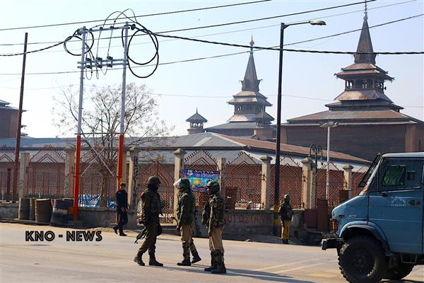 Hurriyat (M) denounces curbs in downtown areas | KNO