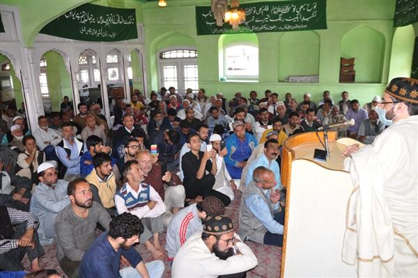 AAC workers hold rally at Mirwaiz Manzil | KNO