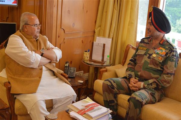 Northern Army Commander meets Governor | KNO