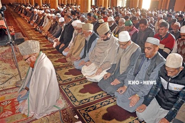 Eid-ul-fitr prayers to be offered at Jamia Masjid | KNO