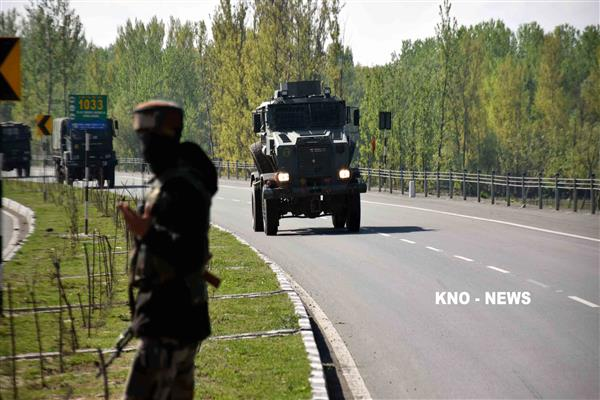 Traffic suspended as suspicious material recovered in Poonch | KNO