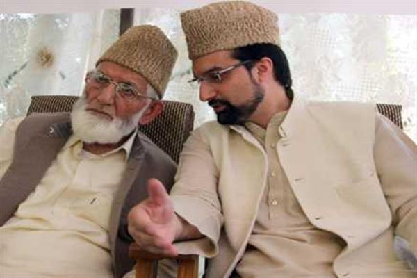 After, Hurriyat(M), Hurriyat (G) meetings; Geelani, Mirwaiz hold separate talks | KNO