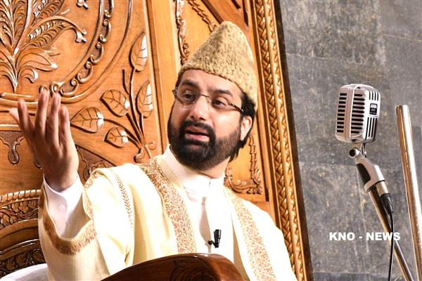 Restore all traditional flood channels to prevent threats: Mirwaiz tells Govt | KNO