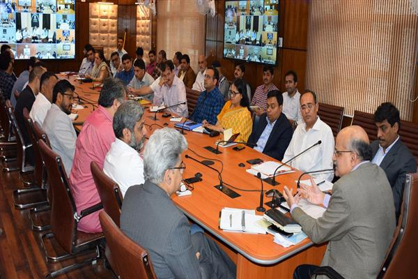 First of its kind 'Back to the Village' programme being organized across J&K State from June 20-27, 2019 | KNO