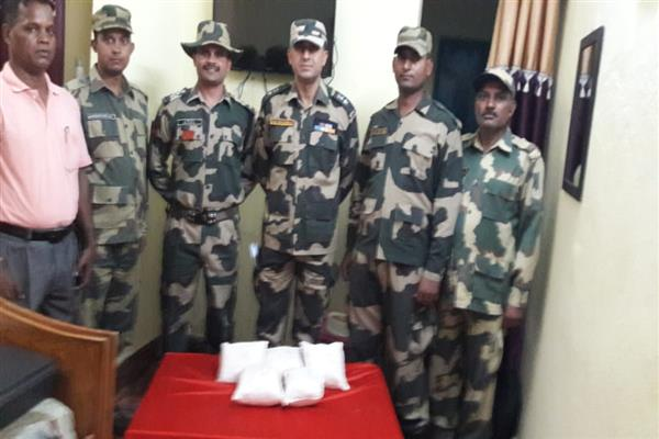 BSF recovers heroin worth Rs 25 crores on Jammu Int'l boundary | KNO