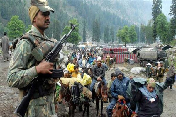 Amarnath Yatra: For the first time, hi-tech gadgets to track movement of pilgrims in Kashmir | KNO