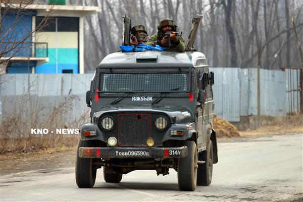 Gunfight rages in Tral forests | KNO