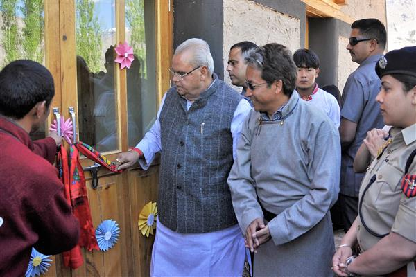 Cluster University for Ladakh sanctioned, more initiatives soon: Governor | KNO