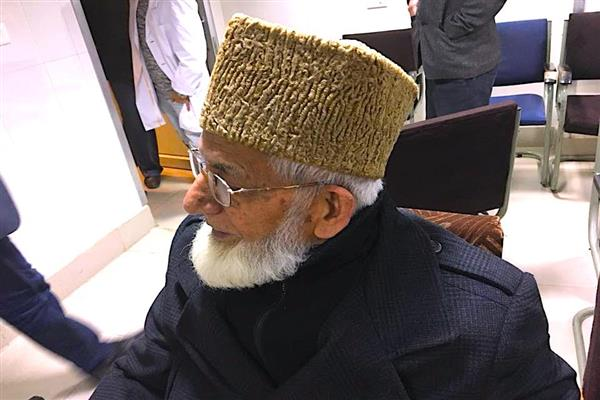 Hurriyat (G) concerned over worsening health of Geelani | KNO
