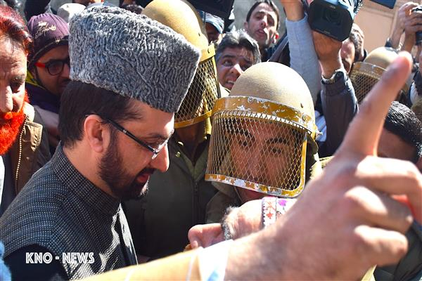 Hurriyat (M) pays tribute to July 13 martyrs, Mirwaiz to lead procession from Jamia Masjid on Sat | KNO