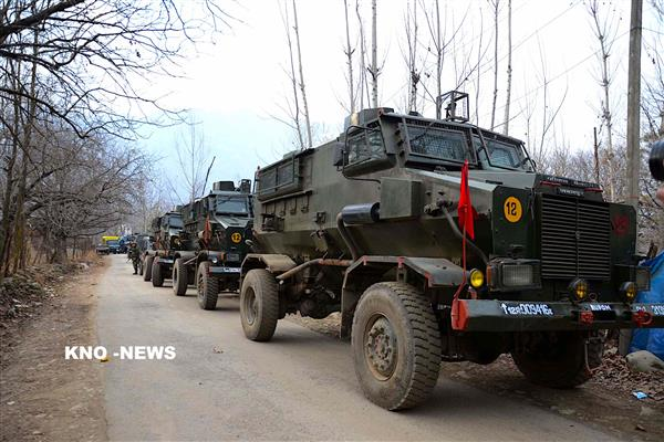 Forces launch CASO in Sopore Village, searches Underway | KNO