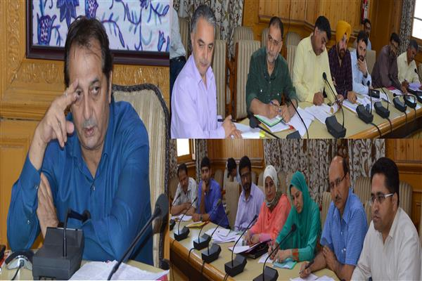 Div Com reviews progress of CS schemes under power sector | KNO