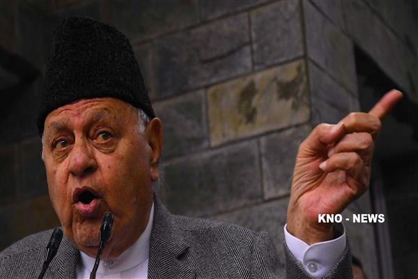 People feeling vulnerable in absence of elected Govt: Dr Farooq | KNO