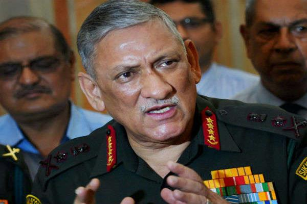 Kashmir no longer an issue with International Community: Army Chief Gen Rawat | KNO