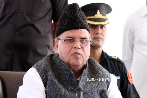 Governor expresses grief over demise of Rahul Jalali | KNO