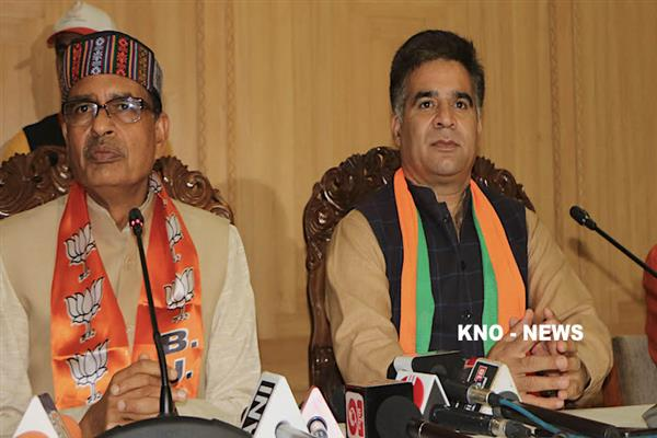 This time Chief Minister will be from Jammu: BJP Chief Ravinder Raina | KNO