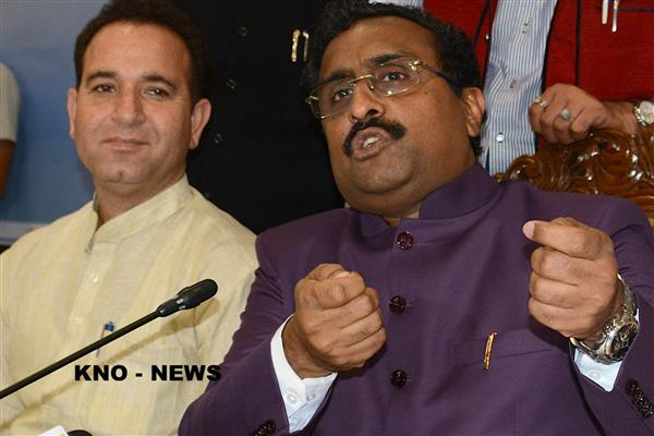Centre, State Govts to fight two way war in JK—to wipe out militancy, root out corruption: Ram Madhav | KNO