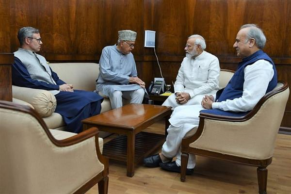 Don't take any steps that will worsen situation in valley: NC delegation to PM Modi | KNO