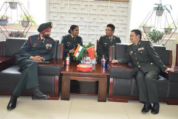 Ceremonial BPM held in Eastern Ladakh on PLA DAY | KNO