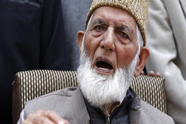 Geelani chairs Majlish Shoora meet, says chaotic situation created war like situation | KNO