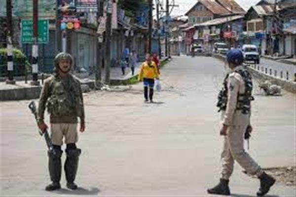 Heavy security build-up across Kashmir post UNGA session    |KNO