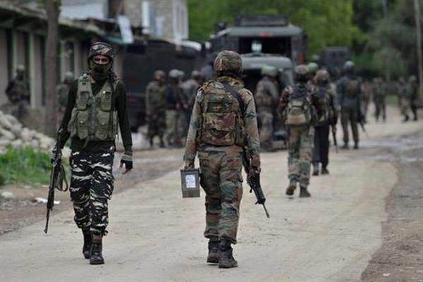 Ganderbal encounter enters day 4:  Siege to continue in entire forest range for coming days, says Police |KNO
