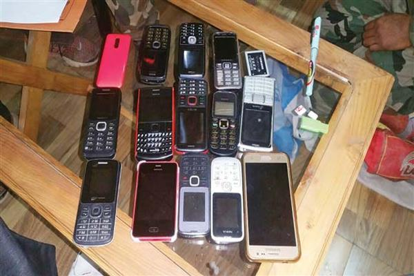 11 phones recovered from caged leaders at MLA hostel | KNO