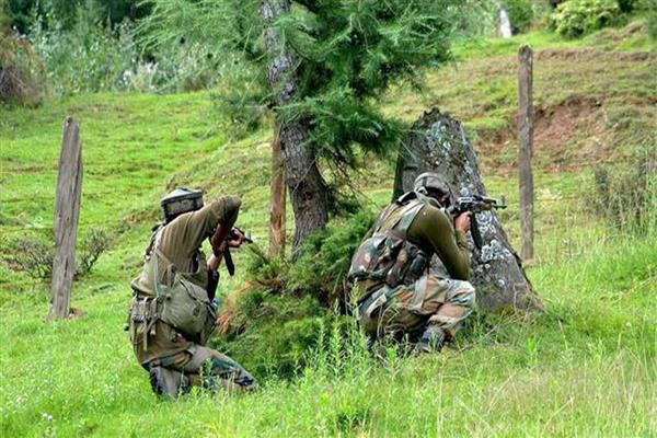 Five militants, a soldier killed in Keran Gunfight | KNO