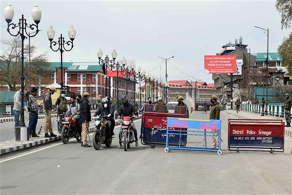COVID-19: Eidgah, Lal Bazar declared as containment zones, sealed after several positive cases reported from areas | KNO