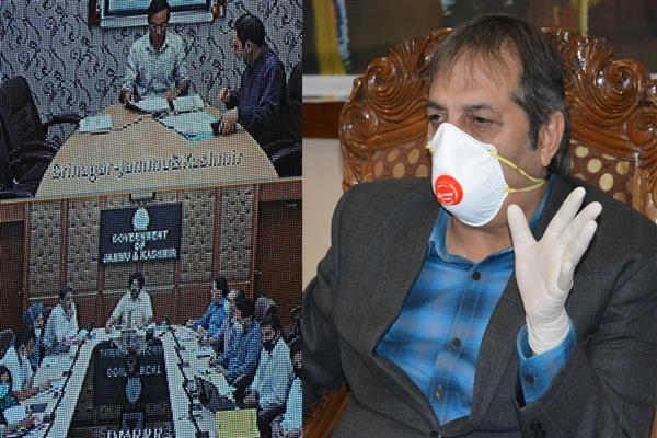 Advisor Baseer Khan reviews functioning of DMRR&R Deptt | KNO