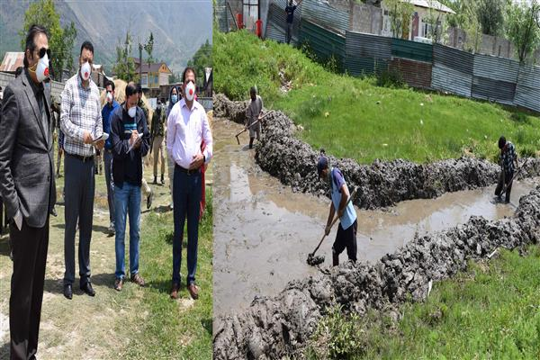Advisor Baseer Khan reviews status of dev works, functioning of COVID care centre at G'bl | KNO