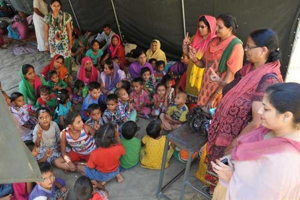 Where does the supply meant for Kashmir's Aganwadi centers go? | KNO