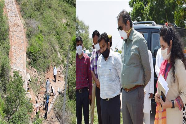 Advisor Baseer Khan conducts day long extensive tour of District Udhampur | KNO