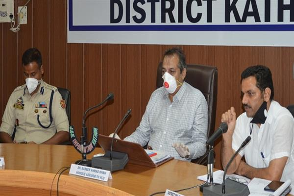 Advisor Baseer Khan reviews Amarnathji Yatra arrangements | KNO
