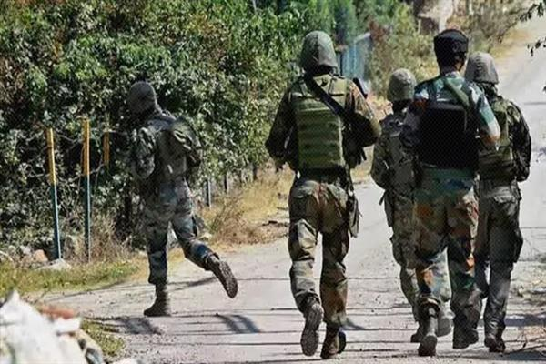 Encounter starts in Tral Pulwama | KNO