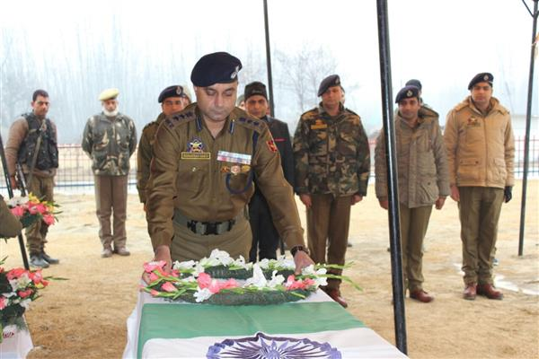 Wreath laying ceremony held at DPL Awantipora | KNO
